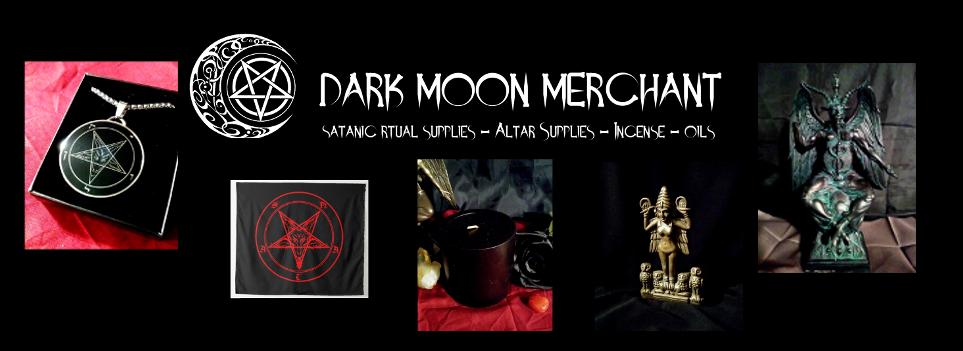 Dark Moon Merchant Shop - Satanic Merchandise